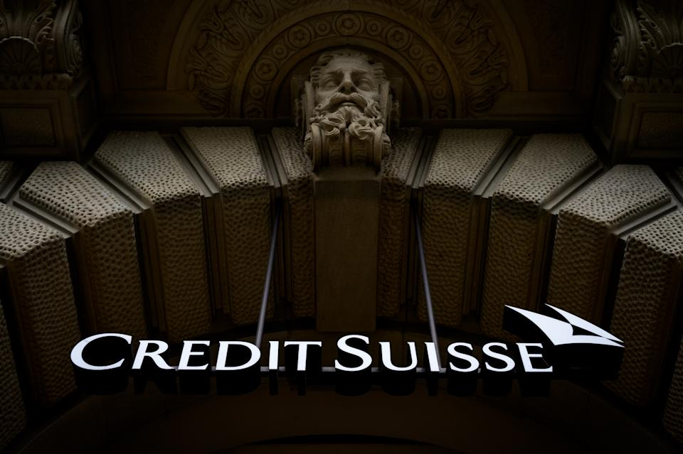 Shares in Credit Suisse sunk after it warned of 'significant losses' linked to the blow up at Archegos Capital. Photo: Fabrice Coffrini/AFP via Getty Images