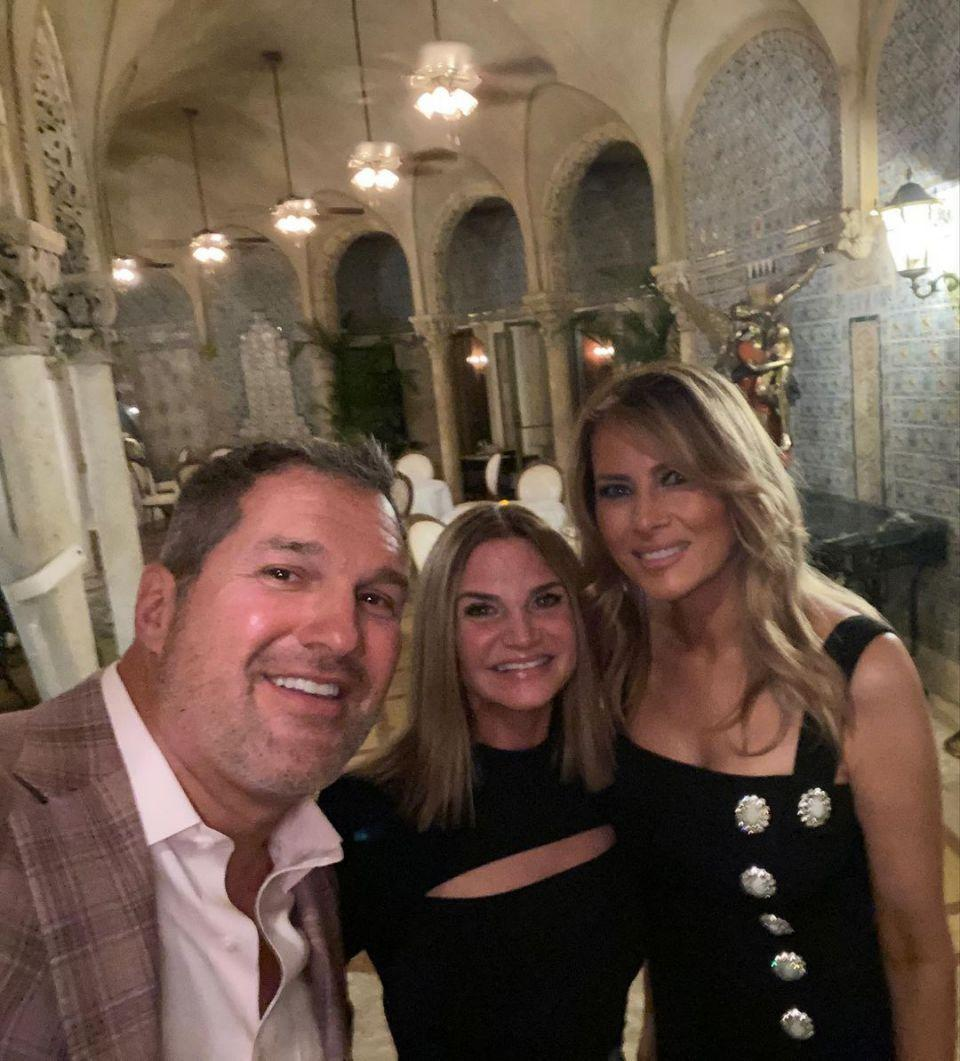 Melania Trump pictured first time at Mar-a-Lago since presidential loss