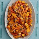 """<p>Transform simple roasted root vegetables into something incredible with a sweet and spicy nut crumble. It's out of this world good! </p><p><a href=""""https://www.thepioneerwoman.com/food-cooking/recipes/a33251632/roasted-vegetables-with-pecan-crumble-recipe/"""" rel=""""nofollow noopener"""" target=""""_blank"""" data-ylk=""""slk:Get Ree's recipe."""" class=""""link rapid-noclick-resp""""><strong>Get Ree's recipe. </strong></a></p><p><a class=""""link rapid-noclick-resp"""" href=""""https://go.redirectingat.com?id=74968X1596630&url=https%3A%2F%2Fwww.walmart.com%2Fsearch%2F%3Fquery%3Dpioneer%2Bwoman%2Bserving%2Bplatters&sref=https%3A%2F%2Fwww.thepioneerwoman.com%2Ffood-cooking%2Fmeals-menus%2Fg37350610%2Fvegetable-side-dishes%2F"""" rel=""""nofollow noopener"""" target=""""_blank"""" data-ylk=""""slk:SHOP SERVING PLATTERS"""">SHOP SERVING PLATTERS</a></p>"""