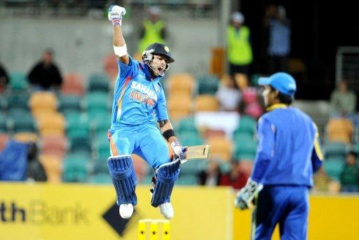 With Kohli their star, the World Cup champions easily chased down Sri Lanka's 320 for four