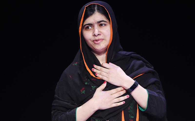 Malala speaking to theAssociation of School and College Leaders - PA