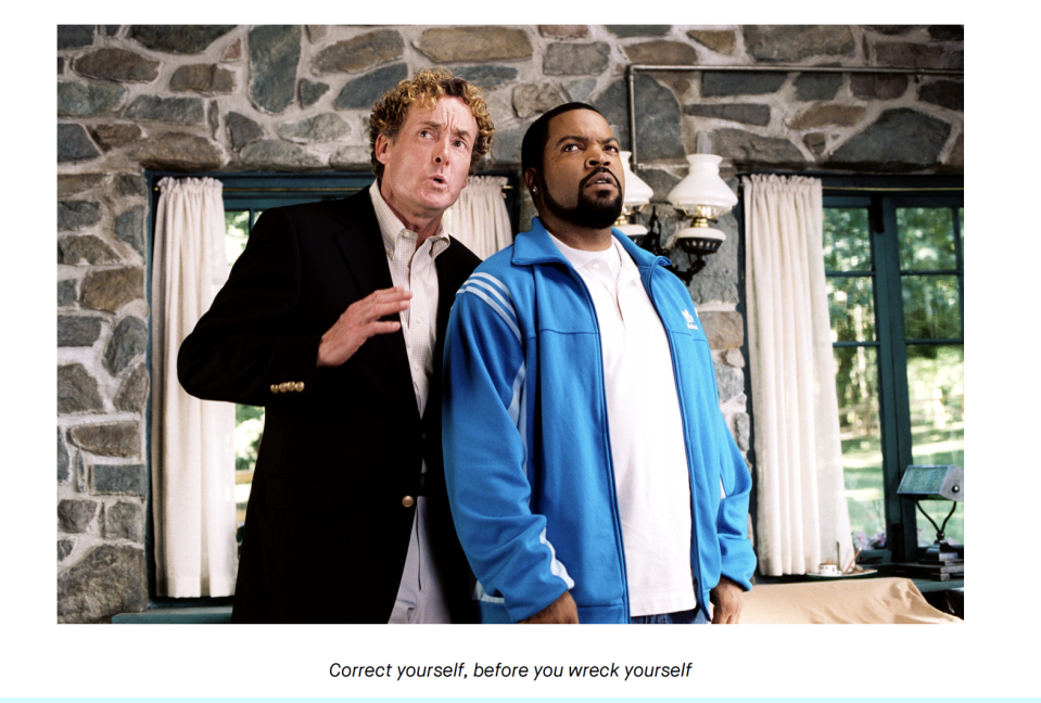 This is Exhibit A from the lawsuit, an image from a Robinhood newsletter.