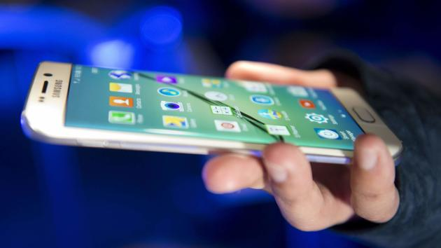 The Samsung Galaxy S6 replaces the S5 as the brand's flagship (Sky News)