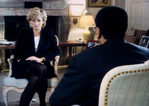 PHOTO: Princess Diana during an interview with Martin Bashir for Panorama, Nov. 20, 1995, at Kensington Palace in the U.K. (Tim Graham/Corbis via Getty Images)