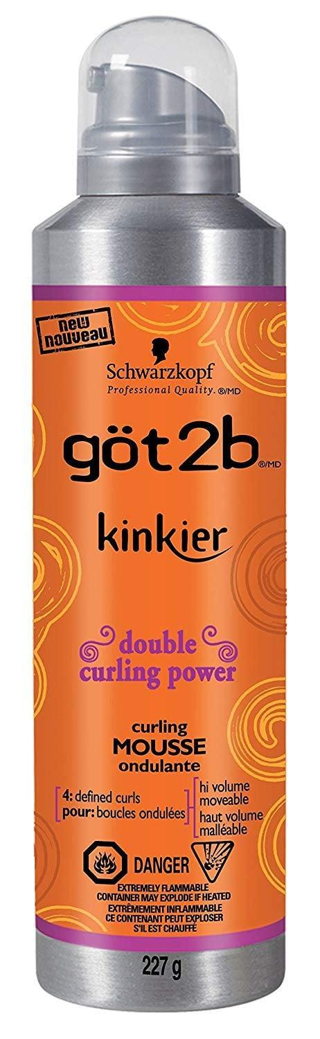 <p><span>Got2b Kinkier Curling Mousse</span> ($10) does it all. It adds bounce and definition while bringing down frizz.</p>