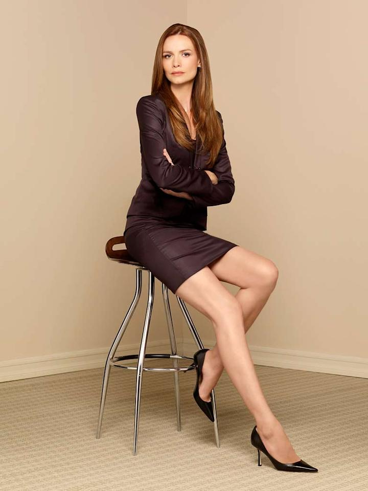 Saffron Burrows stars as Lorraine Weller in Boston Legal.