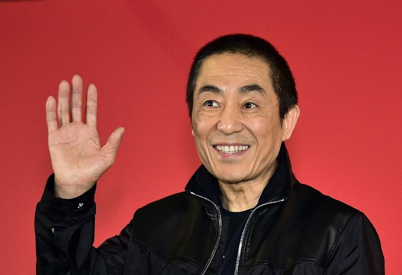 "Buzz is building for ""The Great Wall"", an upcoming science-fiction movie directed by Zhang Yimou, pictured on October 4, 2014, which is set in China but includes big Hollywood names like actors Matt Damon and Willem Dafoe (AFP Photo/Jung Yeon-Je)"