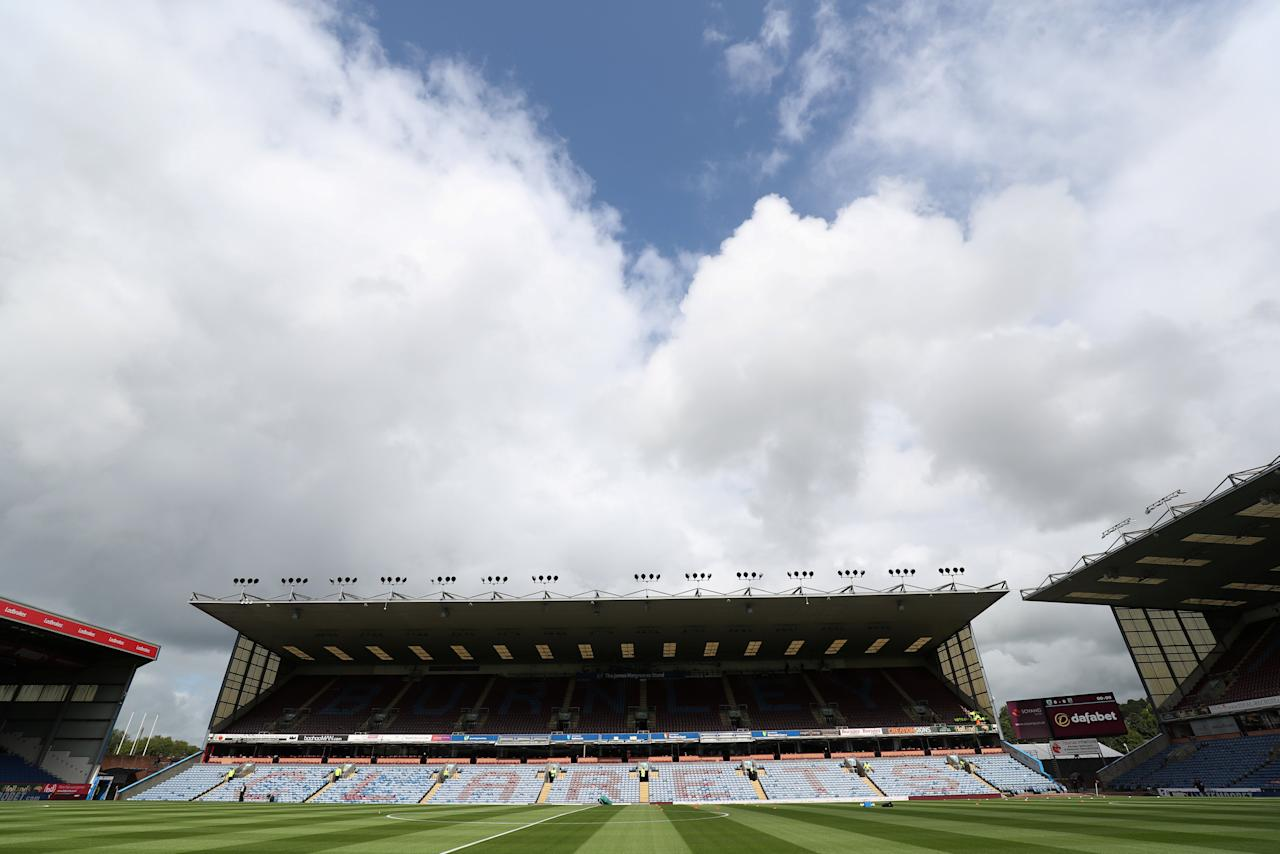 "Soccer Football - Premier League - Burnley vs West Bromwich Albion - Burnley, Britain - August 19, 2017   General view of Turf Moor before the match    REUTERS/Scott Heppell      EDITORIAL USE ONLY. No use with unauthorized audio, video, data, fixture lists, club/league logos or ""live"" services. Online in-match use limited to 45 images, no video emulation. No use in betting, games or single club/league/player publications. Please contact your account representative for further details."
