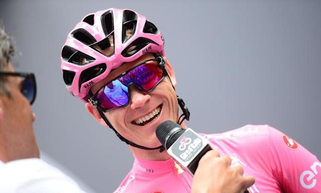 """<span class=""""element-image__caption"""">Chris Froome. 'Cycling, and serial grand tour winners in particular, long ago forfeited the right to keep secrets.' </span> <span class=""""element-image__credit"""">Photograph: SWpix.com/REX/Shutterstock</span>"""