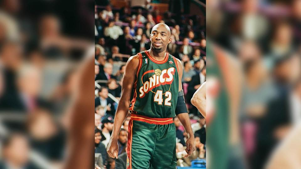 """<p>Look yourself in the mirror and be honest: If you signed a deal worth tens of millions of dollars, would you let yourself go a little bit?</p> <p>Well, Vin Baker got some time off during the 1998-99 strike-shortened season, and like a lot of basketball players, he didn't keep up his skills and conditioning quite as well as he needed to.</p> <p>This was really unfortunate for the Seattle SuperSonics since they had signed him to a seven-year, $86 million deal prior to the 1999 season. While the Vin Baker they signed appeared to be worthy of the large deal, the one they got averaged a paltry 8.7 points and 4.7 rebounds a game during the extent of the contract. Meaning he was ultimately paid over $40,000 for each point he scored.</p> <p><em><strong>Making the Big Money: <a href=""""https://www.gobankingrates.com/net-worth/sports/highest-paid-athlete-year-1990-2020/?utm_campaign=1053693&utm_source=yahoo.com&utm_content=25"""" rel=""""nofollow noopener"""" target=""""_blank"""" data-ylk=""""slk:The Highest-Paid Athlete of Every Year From 1990 to 2020"""" class=""""link rapid-noclick-resp"""">The Highest-Paid Athlete of Every Year From 1990 to 2020</a></strong></em></p> <p><small>Image Credits: The Sporting News / Getty Images</small></p>"""