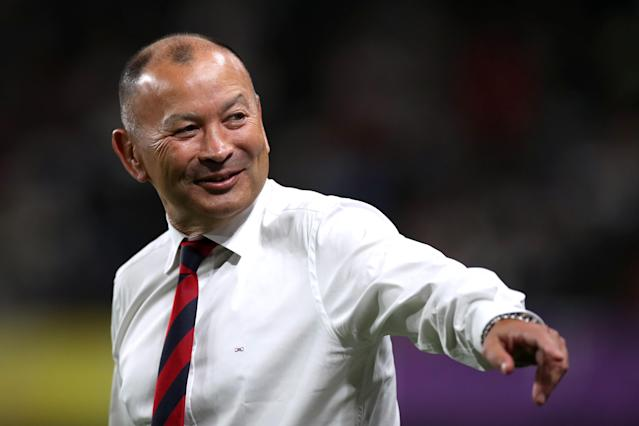 England head coach Eddie Jones (Credit: Getty Images)