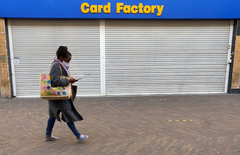 Card Factory sets 2025 targets, sales fall less than expected as lockdowns ease