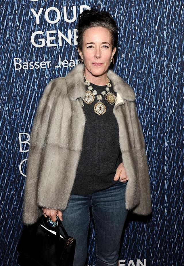 Kate Spade in 2015 in New York City. (Photo: Daniel Zuchnik/WireImage)