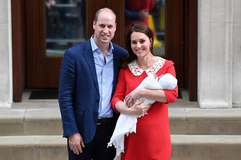 "Prince William Says He Is Still ""Working On"" a Name for Royal Baby Number Three"