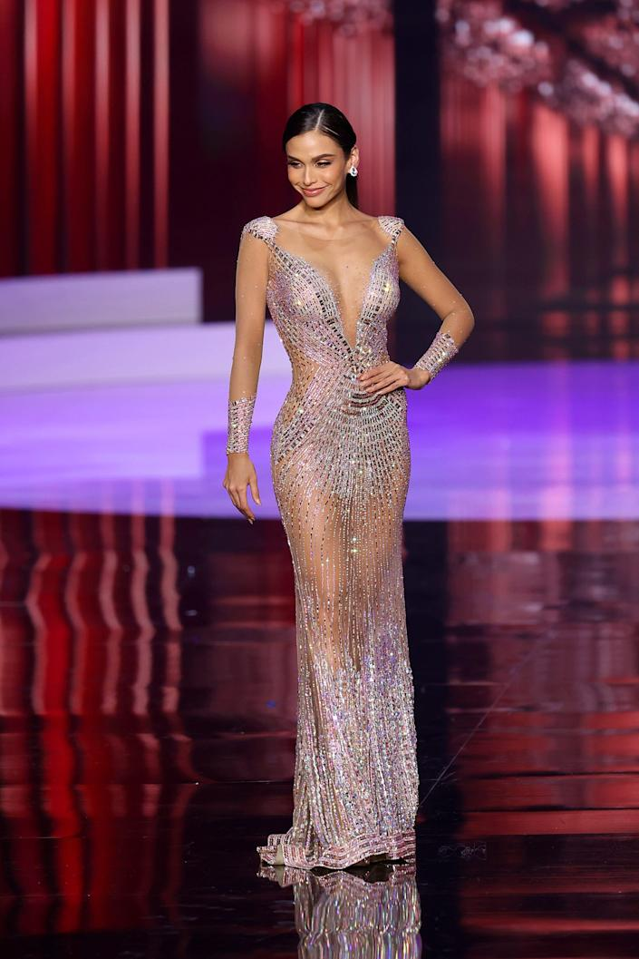 Miss Peru at the 2021 Miss Universe competition
