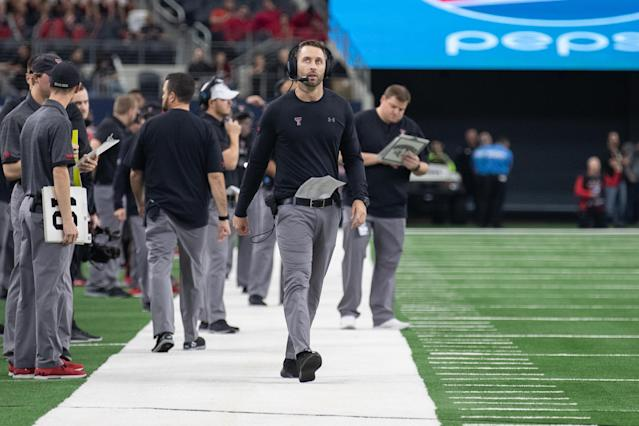Kliff Kingsbury was hired by USC on Dec. 5. (Photo by Matthew Visinsky/Icon Sportswire via Getty Images)