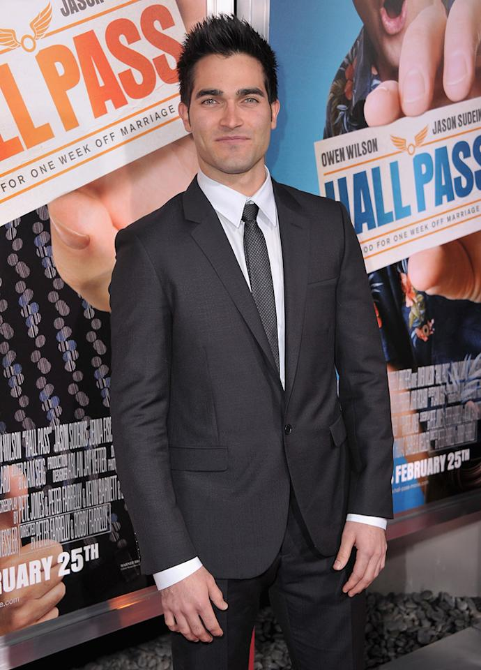 "<a href=""http://movies.yahoo.com/movie/contributor/1807428927"">Tyler Hoechlin</a> attends the Los Angeles premiere of <a href=""http://movies.yahoo.com/movie/1810133702/info"">Hall Pass</a> on February 23, 2011."