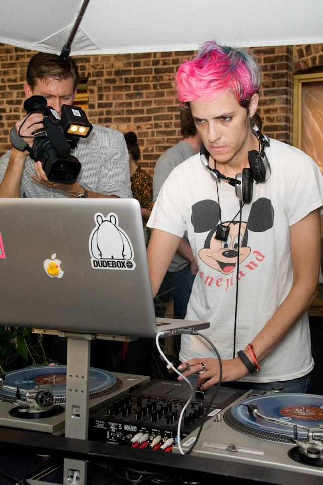 DJ Samantha Ronson Find Your FaceMate.com Launch Party at the STK Rooftop New York City, USA, July 10 2012 Mandatory Credit: Ivan Nikolov/WENN.com