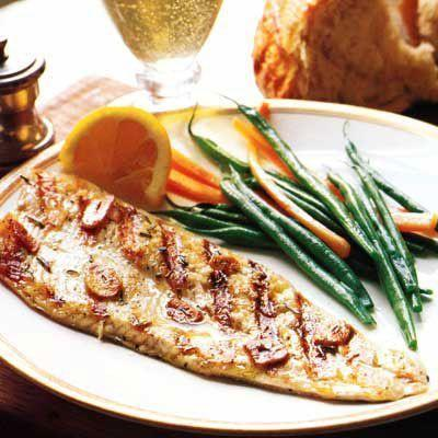 "<p>Rosemary and sage add a bright, herby flavor to succulent trout fillets in this dish.</p><p>Get the recipe from <a href=""https://www.delish.com/cooking/recipe-ideas/recipes/a2476/tuscan-grilled-trout-recipe-8032/"" rel=""nofollow noopener"" target=""_blank"" data-ylk=""slk:Delish"" class=""link rapid-noclick-resp"">Delish</a>.</p>"