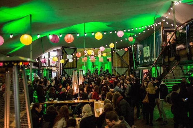 Go green: the St Paddy's Day jam at Pop Brixton