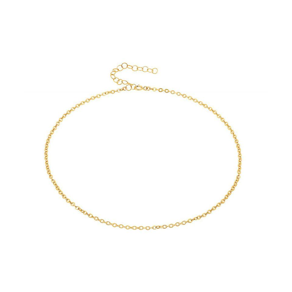 "<p><strong>More info</strong></p><p>bychari.com</p><p><strong>$45.00</strong></p><p><a href=""https://bychari.com/collections/anklets/products/chain-anklet"" target=""_blank"">Shop Now</a></p>This simple and sexy anklet is the only piece you'll need to go with every summer sandal. Gold FilledMeasurement 9"" with 1"" extensionExpected shipping 5 business days"