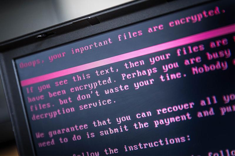 Cyber attacks are costing Londoners millions of pounds each month: ROB ENGELAAR/AFP/Getty