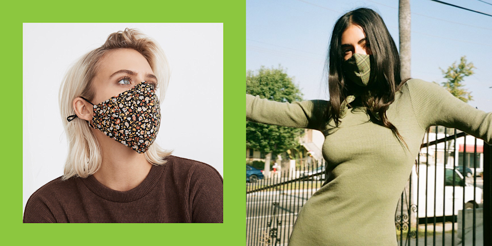 "<p class=""body-dropcap"">Phone, keys, wallet, face mask—this is our new normal. But while donning a protective face covering is definitely the responsible choice, we shouldn't let adhering to CDC guidelines stop us from being eco-conscious, too. Loads of <a href=""https://www.theguardian.com/environment/2020/jun/08/more-masks-than-jellyfish-coronavirus-waste-ends-up-in-ocean"" rel=""nofollow noopener"" target=""_blank"" data-ylk=""slk:discarded face-masks and gloves are piling up on beaches"" class=""link rapid-noclick-resp"">discarded face-masks and gloves are piling up on beaches</a>, and this threat is fast becoming a major environmental concern. So what are we to do? Enter: sustainable face mask brands.</p><p>Of course, when it comes to shopping for PPE, it's good to consider your lifestyle and shop accordingly (for instance, there are anti-fogging <a href=""https://www.cosmopolitan.com/style-beauty/fashion/g35179313/best-masks-for-glasses-wearers/"" rel=""nofollow noopener"" target=""_blank"" data-ylk=""slk:face masks for glasses wearers"" class=""link rapid-noclick-resp"">face masks for glasses wearers</a> and some more <a href=""https://www.cosmopolitan.com/health-fitness/g34882279/athletic-face-masks-for-running-workouts/"" rel=""nofollow noopener"" target=""_blank"" data-ylk=""slk:breathable options"" class=""link rapid-noclick-resp"">breathable options</a> for when you're working out). But should also consider <em>how</em> the mask is made, if you're aiming to be more eco-conscious. Things like what materials and production methods the masks are made from are worthwhile ideas to consider.<br></p><p>I went ahead and did some research so you don't have to. Below is a list of brands that make washable and reusable eco-friendly face coverings (some even make them from up-cycled or deadstock fabric)—and before you ask, <em>yes! They are all cute!!</em></p>"