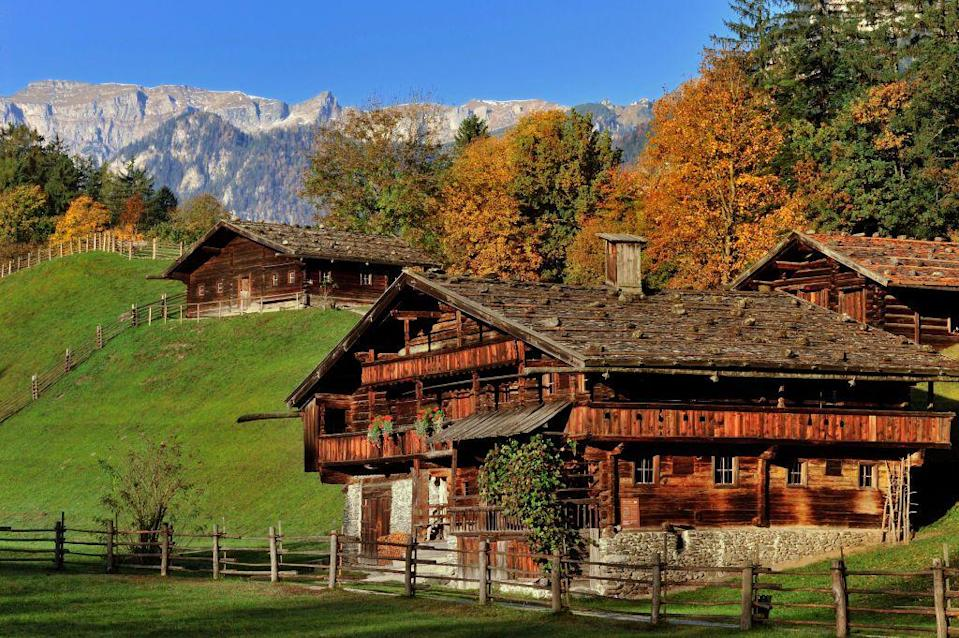 "<p>Set amidst the dramatic Austrian Alps, the <a href=""https://www.museum-tb.at"" rel=""nofollow noopener"" target=""_blank"" data-ylk=""slk:Museum of Tyrollean Farms"" class=""link rapid-noclick-resp"">Museum of Tyrollean Farms</a> in Kramsach, Austria has 37 historic farmsteads and rural buildings that offer insight into the traditional mountain life of the Tyrol region. One of the oldest buildings on site is the wooden Tierstaller farm from 1557.</p>"
