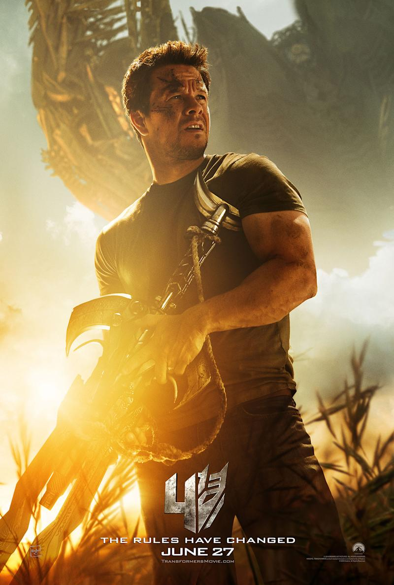 Mark Wahlberg in 'Transformers: Age of Extinction' (Paramount Pictures)