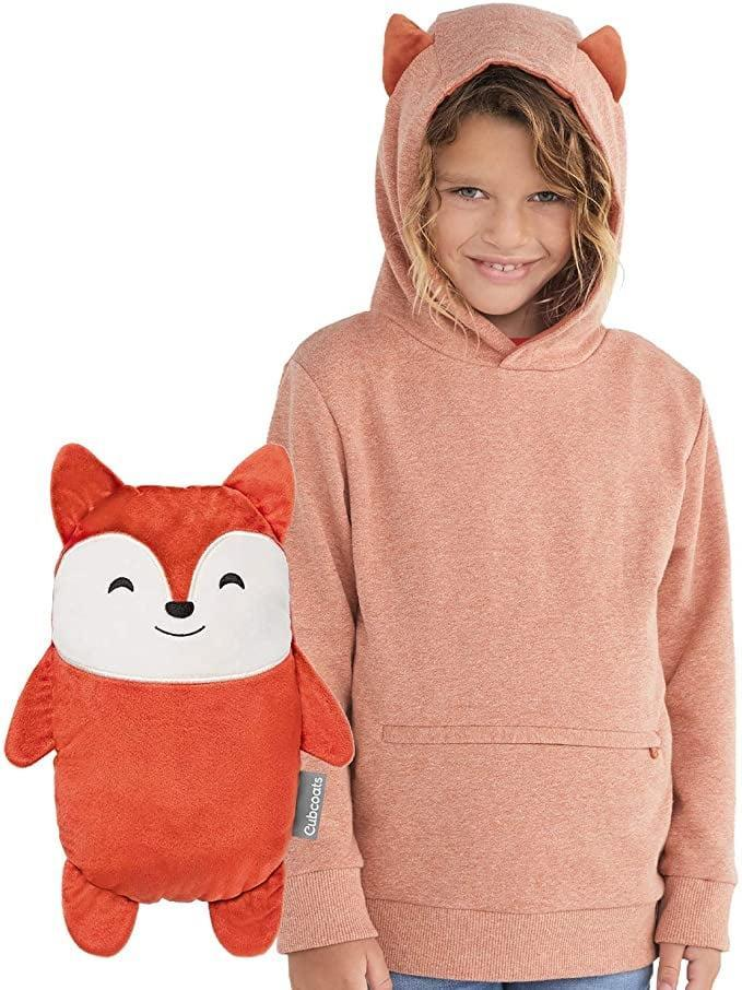 """<p>Camping weather can be fickle. Even if it's warm and sunny when the festivities get going, things may cool off as the night wears on. The <a href=""""https://www.popsugar.com/buy/Cubcoats-2--1-Pullover-Hoodie-574573?p_name=Cubcoats%202-in-1%20Pullover%20Hoodie&retailer=amazon.com&pid=574573&price=35&evar1=moms%3Aus&evar9=47479532&evar98=https%3A%2F%2Fwww.popsugar.com%2Fphoto-gallery%2F47479532%2Fimage%2F47479540%2FCubcoats-2-in-1-Pullover-Hoodie&list1=camping%2Ckid%20activities%2Ckid%20shopping%2Cparent%20shopping%2Cstaying%20home&prop13=api&pdata=1"""" class=""""link rapid-noclick-resp"""" rel=""""nofollow noopener"""" target=""""_blank"""" data-ylk=""""slk:Cubcoats 2-in-1 Pullover Hoodie"""">Cubcoats 2-in-1 Pullover Hoodie</a> ($35) magically transforms from a cuddly stuffed animal to a warm, cozy hoodie just by unzipping and turning it inside out.</p>"""