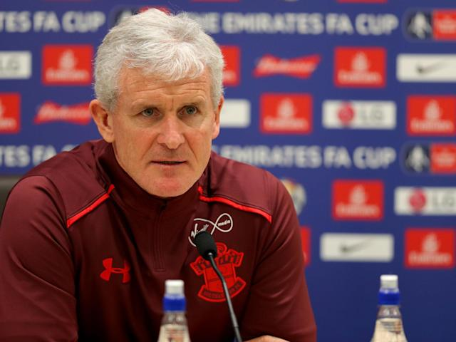 Mark Hughes tells Southampton stars to rise to survival challenge