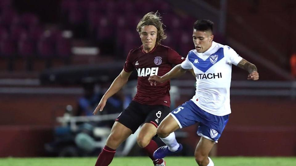 Lanus v Velez - Copa CONMEBOL Sudamericana 2020 - Francisco Ortega. | Pool/Getty Images