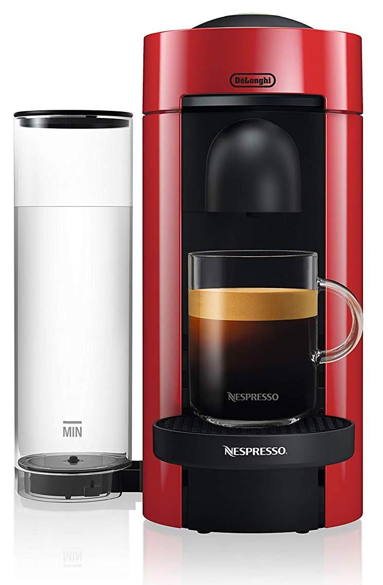 This cute espresso/coffee machine has a 4.4 out of 5-star rating. (Photo: Amazon
