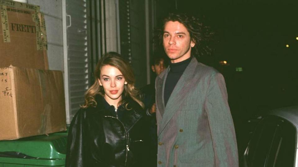 Kylie Minogue and Michael Hutchence had a 18-month relationship in the late 1980s and early 1990s (Getty Images)