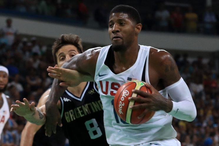 new style 5e24a 87748 Paul George said his Olympic experience boosted his confidence. (Getty  Images)