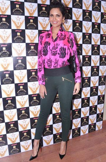 It's a Masaba shirt for the Stardust Awards press meet, January 2013