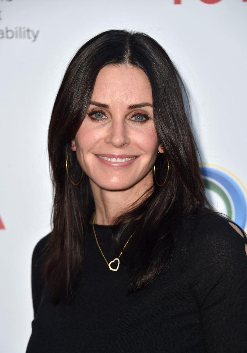 "<p>Courteney Cox said many doctors suggest she get fillers every now and then, which led to layers upon layers of cosmetic enhancement that she didn't like. ""I've had all my fillers dissolved. I'm as natural as I can be,"" the <em>Friends </em>star <a href=""https://www.newbeauty.com/courteney-cox-beauty/"" rel=""nofollow noopener"" target=""_blank"" data-ylk=""slk:told New Beauty"" class=""link rapid-noclick-resp"">told <em>New Beauty</em></a>. ""I feel better because I look like myself. I think that I now look more like the person that I was. I hope I do,"" she said.</p>"