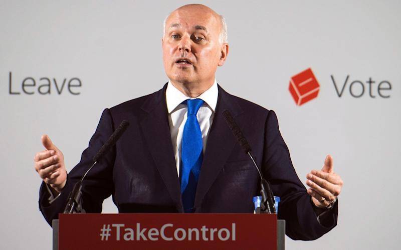 Iain Duncan Smith is one of the top targets for Remoaners - EPA