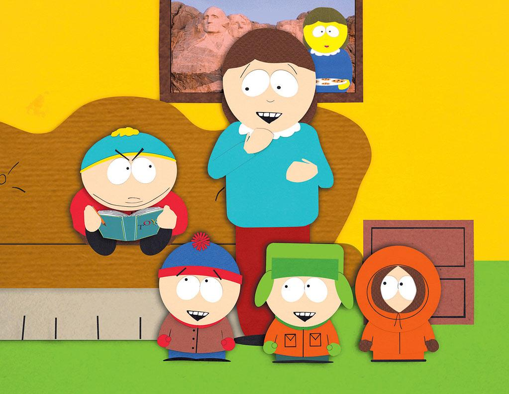 """""""South Park"""" — It doesn't get more indie than cutting characters out of construction paper and shooting stop-motion animation on a 16mm camera. That's precisely how Matt Stone and Trey Parker began crudely animating """"South Park's"""" crude young boys."""
