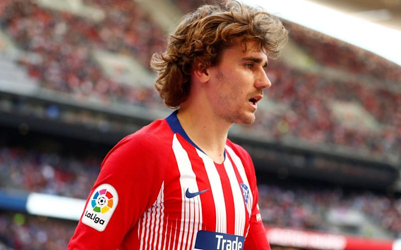 Atletico Madrid's Antoine Griezmann has announced he is leaving the club - REUTERS