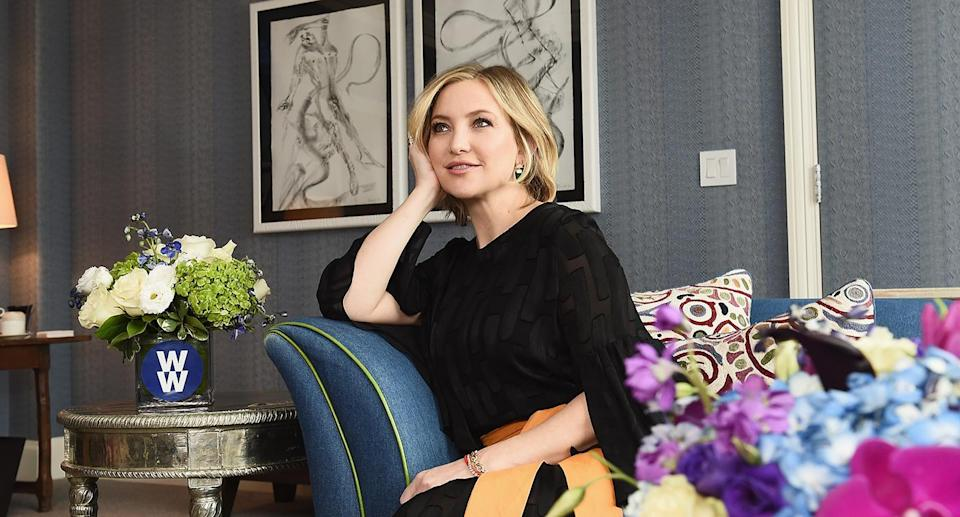 """Kate Hudson has signed on to become the newest global ambassador of <a href=""""https://go.skimresources.com?id=125078X1586062&xs=1&url=https%3A%2F%2Fwww.weightwatchers.com%2Fus%2F"""" rel=""""nofollow noopener"""" target=""""_blank"""" data-ylk=""""slk:WW"""" class=""""link rapid-noclick-resp"""">WW</a> (formerly known as <a href=""""https://go.skimresources.com?id=125078X1586062&xs=1&url=https%3A%2F%2Fwww.weightwatchers.com%2Fus%2F"""" rel=""""nofollow noopener"""" target=""""_blank"""" data-ylk=""""slk:Weight Watchers"""" class=""""link rapid-noclick-resp"""">Weight Watchers</a>). (Photo: Yahoo Lifestyle)"""