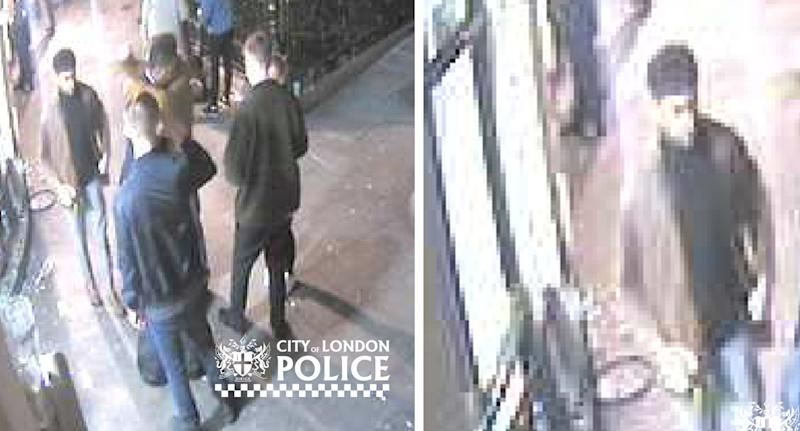 Police are looking to speak to a number of people in connection with a violent assault outside Jamaica Wine House on October 10 (CITY OF LONDON POLICE)
