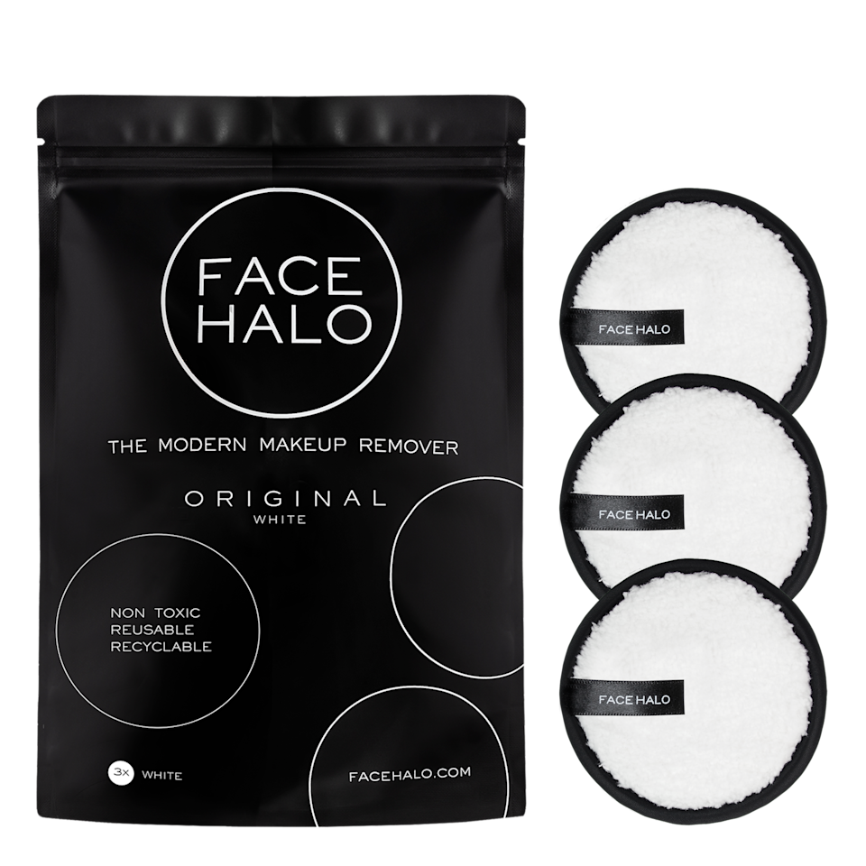 Face Halo Original Makeup Removing Pads 3 Pack, $30 from Priceline. Photo: Priceline.