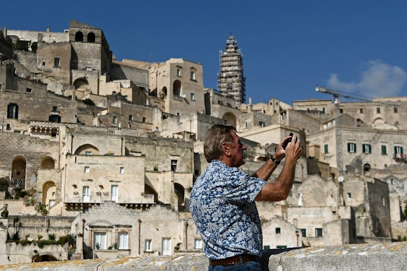 Matera will be a European Capital of Culture in 2019 (AFP Photo/Filippo MONTEFORTE)