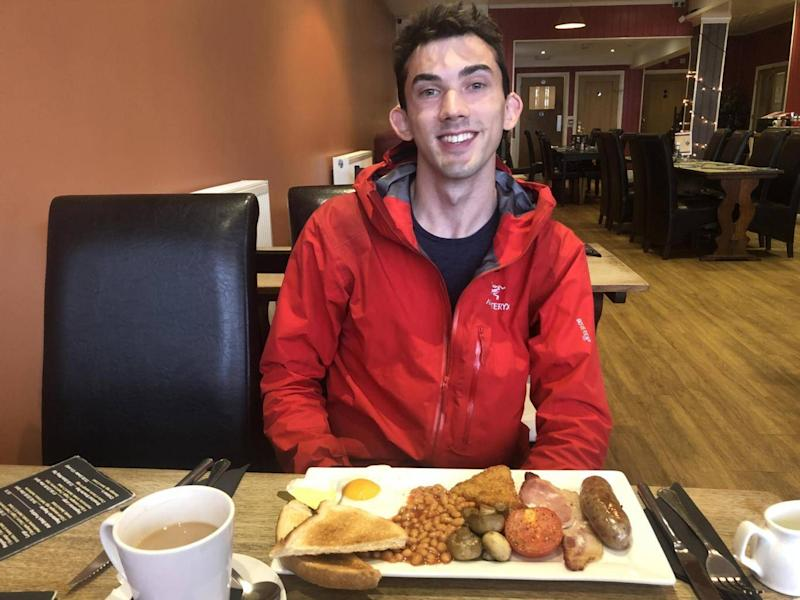 Breakfast with Trevor Daneliuk (Simon Calder)