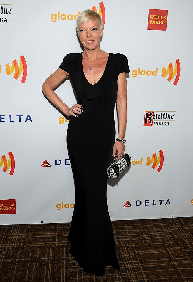 "<p class=""MsoNormal"">Tabatha Coffey, of Bravo's ""Tabatha Takes Over,"" wore her signature shade of black on the red carpet. Let's hope that she approved of the event, or the organizers can expect to hear all about it!</p>"