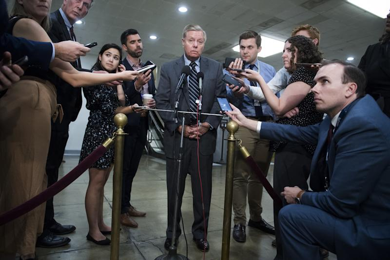 """Lindsey Graham called on lawmakers to impose """"severe"""" sanctions on Turkey this week. In July, on the phone with a fake Turkish official, he was hoping to bring the countries closer together."""
