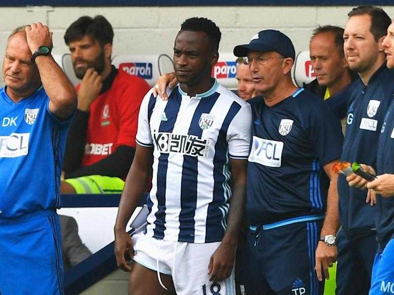 Berahino insisted he was not protected by Pulis or the club (Getty)