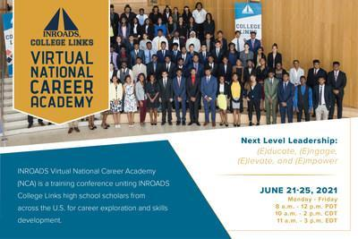 The INROADS Virtual National Career Academy helps their College Links Scholars explore careers and develop skills. The curriculum provides hands-on STEM activities and insight into various career tracks.