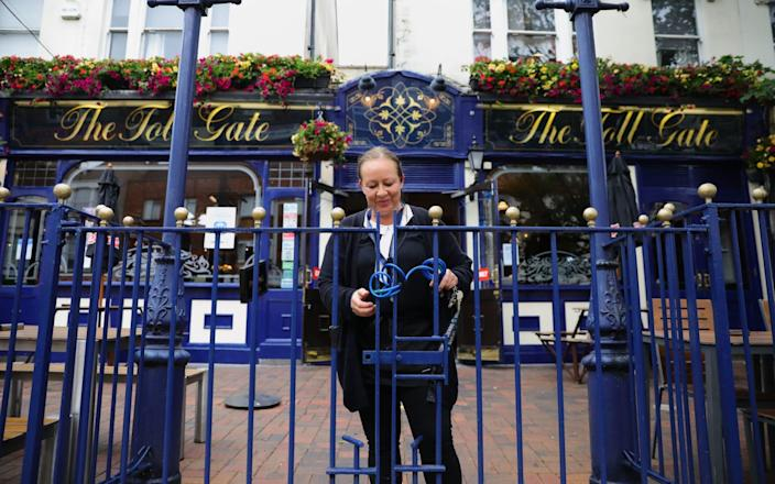 The chain will reopen around half of its pubs - PA